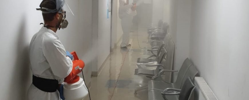 Dezinfectia prin nebulizare